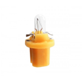 Лампа накаливания Narva Bax 8.5d yellow 1.5W 12V