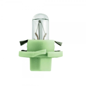 Лампа накаливания Narva Bax 8.4d light green 2W 12V