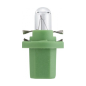 Лампа накаливания Narva Bax 8.5d light green 2W 12V