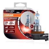 Галогенные лампы OSRAM NIGHT BREAKER UNLIMITED +110% H11